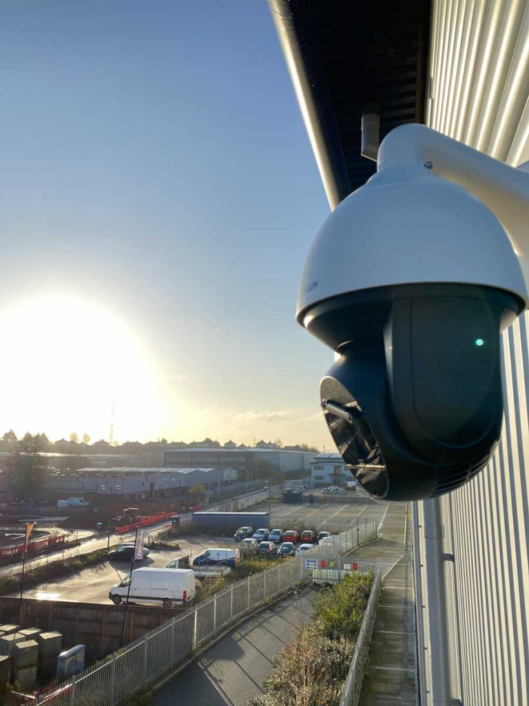 London city bond cctv camera installation